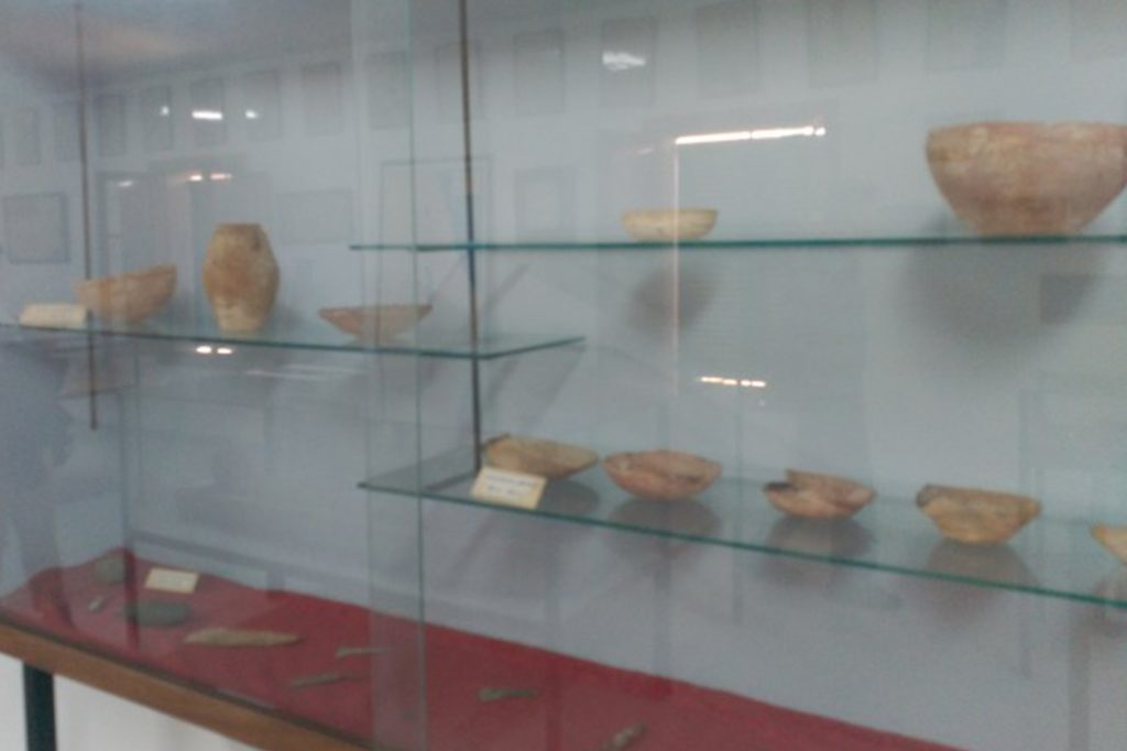 Vitrines Museu Bíblic