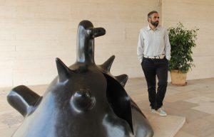 Paco Copado a la Fundació PIlar i Joan Miró