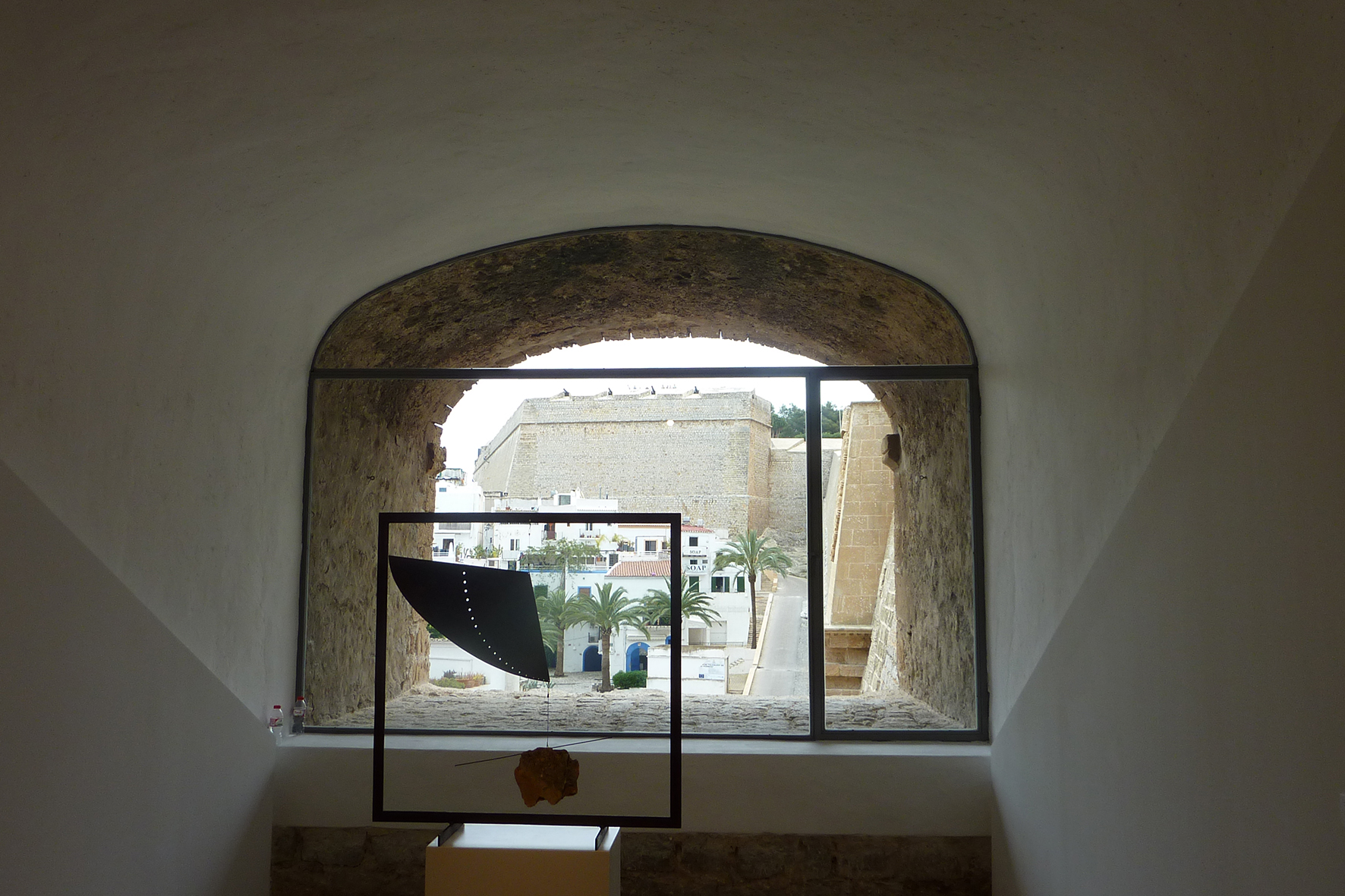 Finestra de l'antiga casamata
