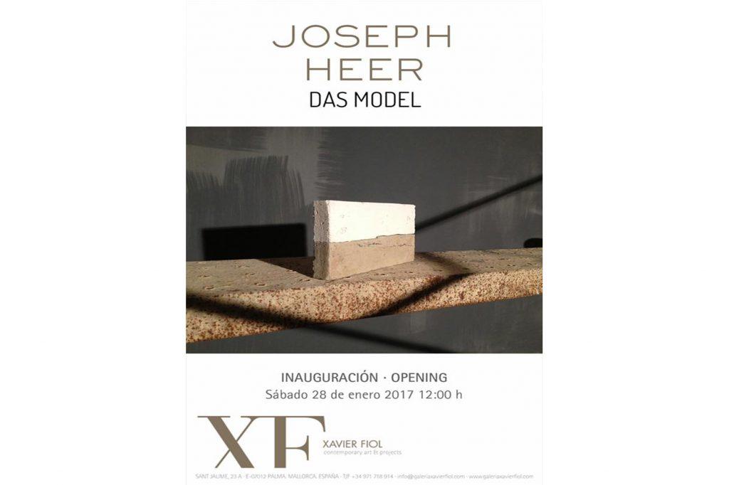 Exposició Joseph Heer a Xavier Fiol