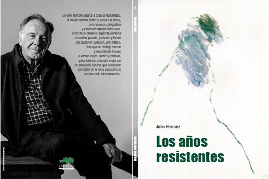 """Portada """"Los años resistentes"""" de Julio Herranz"""