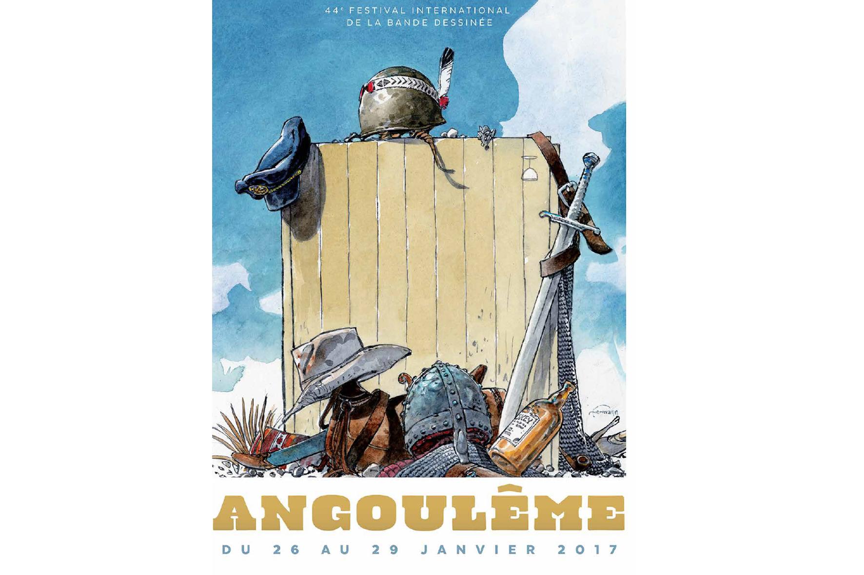 Cartell del 45è Festival International de la Bande Dessinée d'Angoulême.