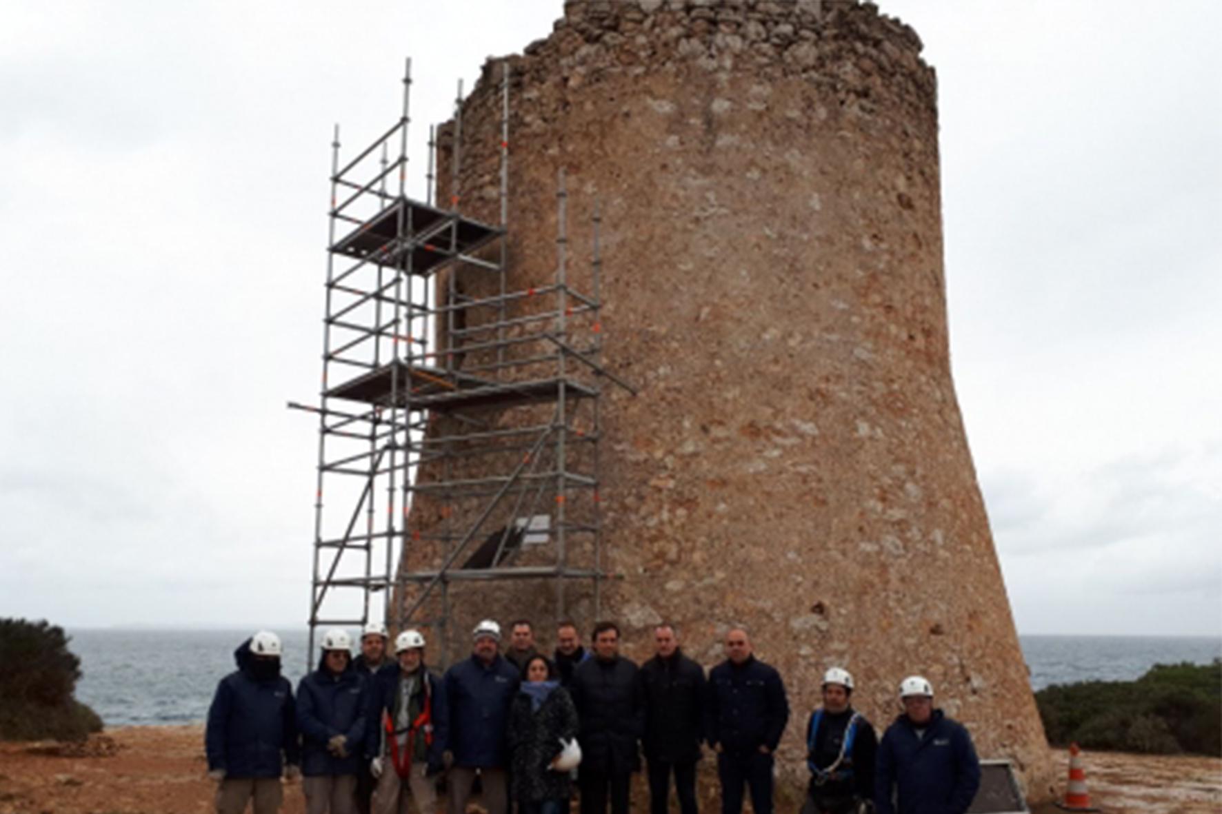 Torre de Cala Pi a Mallorca