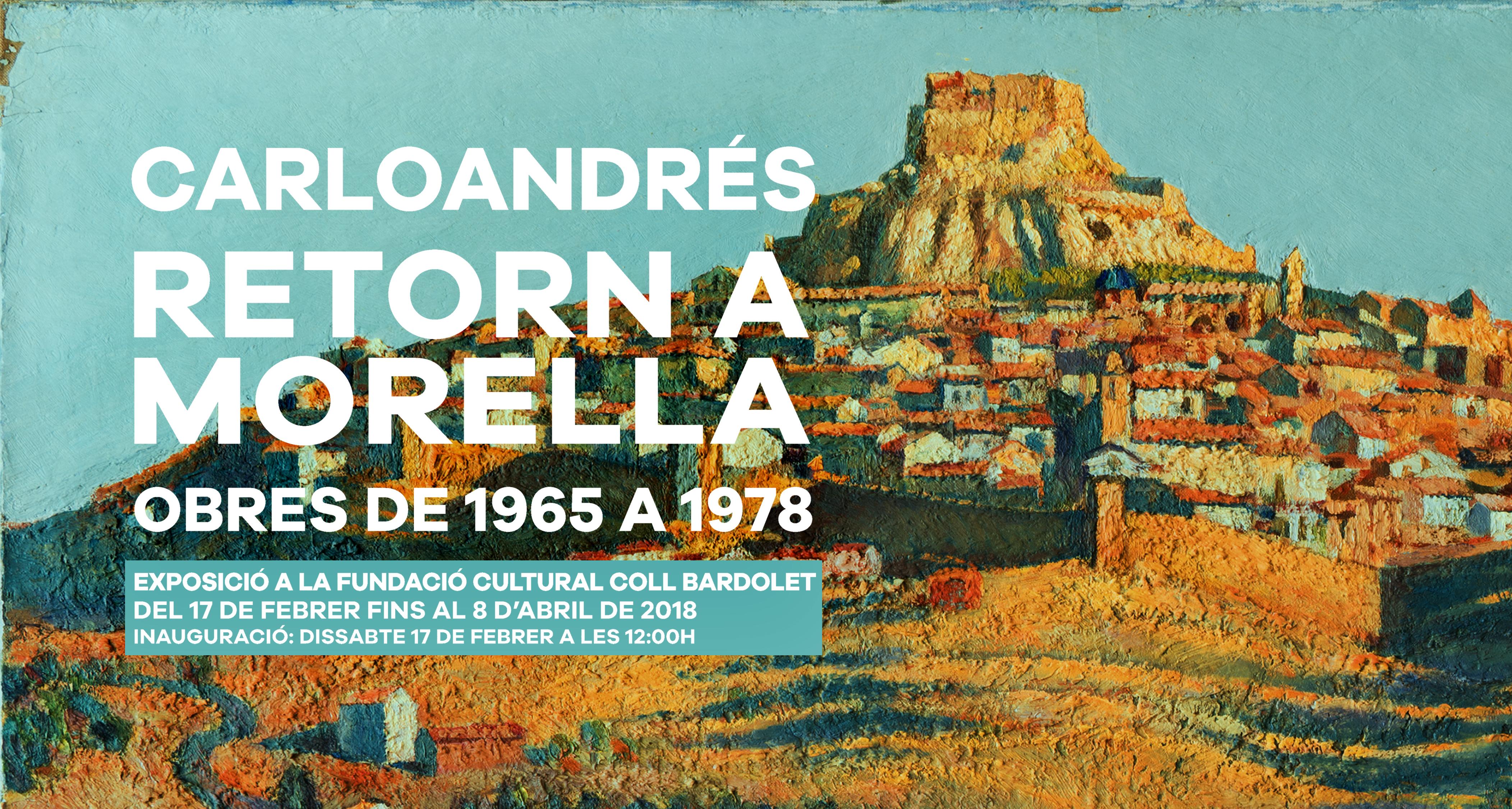 Carloandrés. Retorn a Morella. 1965 - 1978