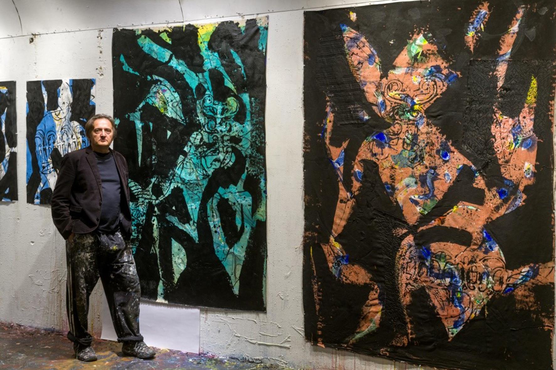 Michel Beaucage a l'estudi
