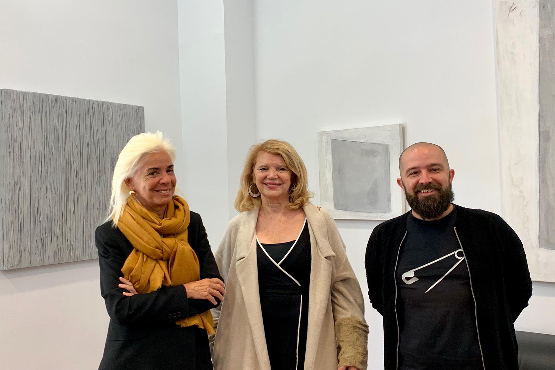 Elena Ruiz, María Catalán i Pep Tur